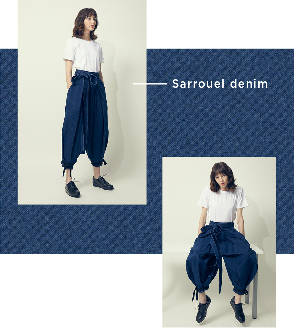 Sarrouel denim