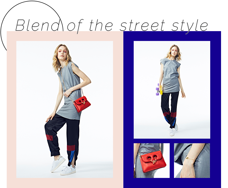 Blend of the street style