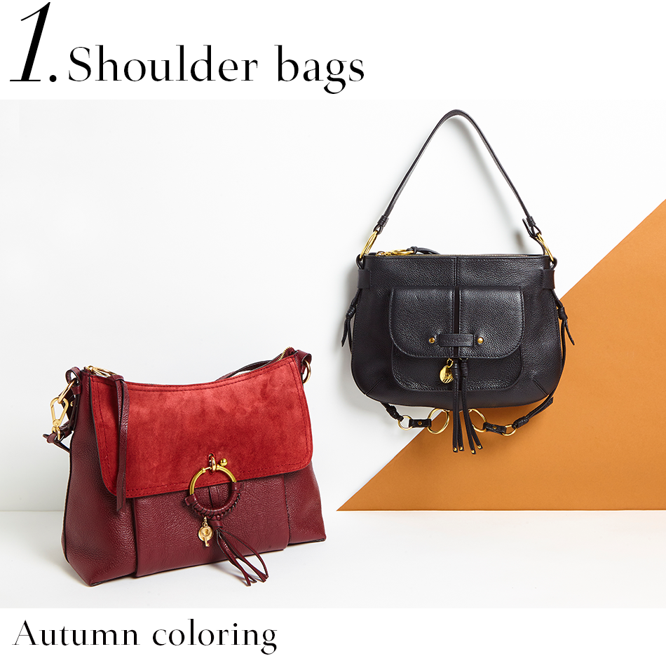 736ea2ad2fce Buyer`s Pick Up SEE BY CHLOE. Shoulder bags <Autumn coloring>