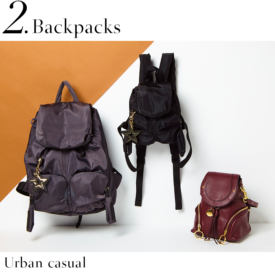 Backpacks <Urban casual>