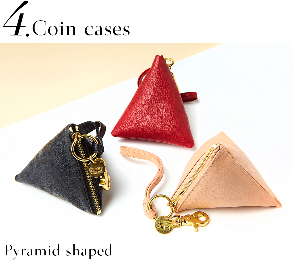 Coin cases <Pyramid shaped>