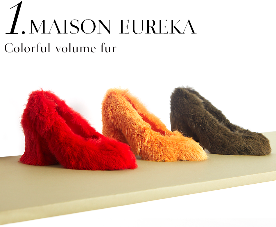 Maison Eureka | Colorful volume fur