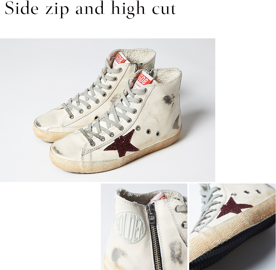 Side zip and high cut