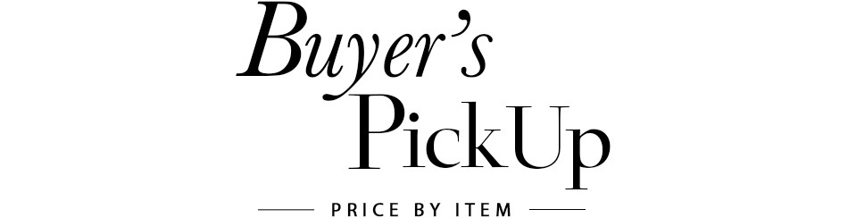 Buyer`s Pick Up Price By Item