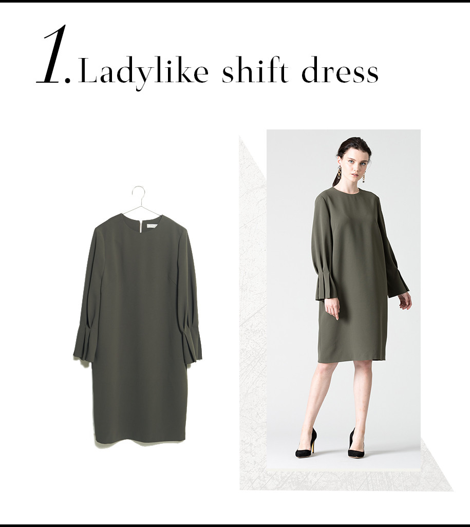 Ladylike shift dress