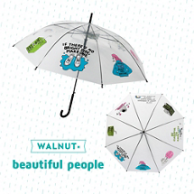 WALNUT×人気ブランドのスペシャルコラボ傘