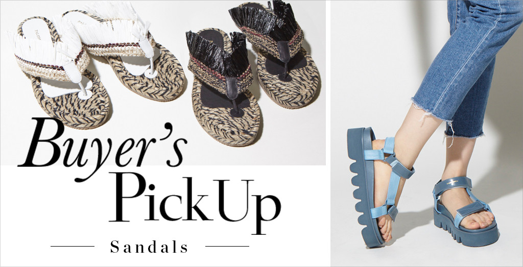Buyer's Pick Up ‐Sandals‐