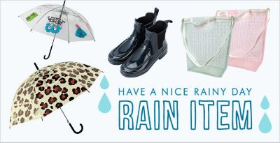 HAPPY RAINY DAY -RAIN ITEM-