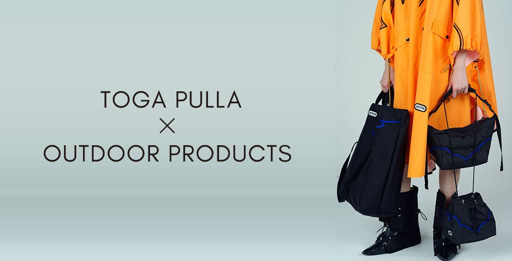 TOGA PULLA × OUTDOOR PRODUCTS