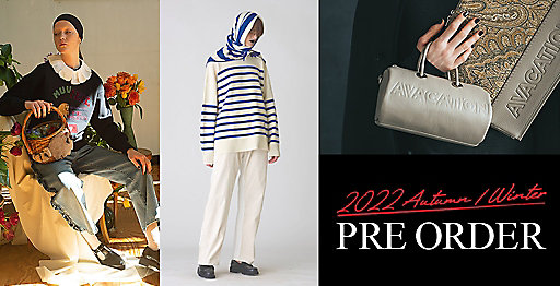 21AW PRE ORDER&NEW COLLECTION