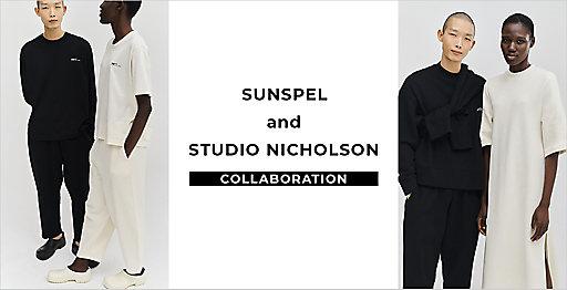 『SUNSPEL and STUDIO NICHOLSON』コラボレーション