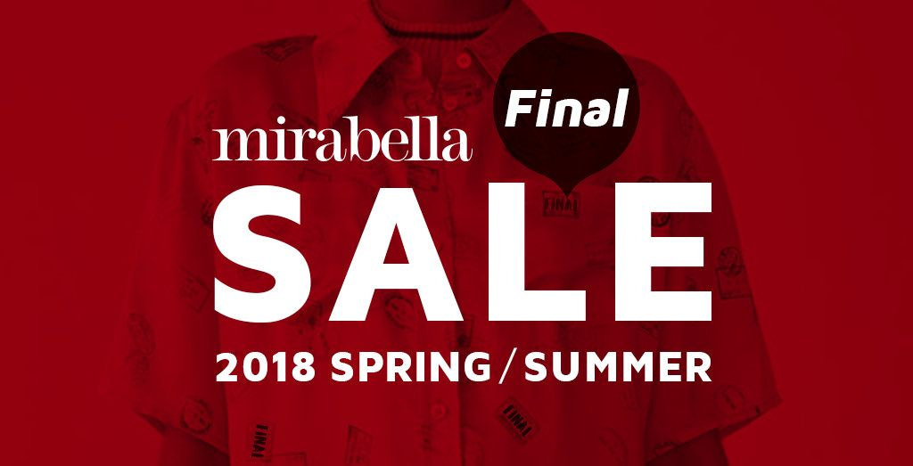mirabella 18SS FINAL SALE