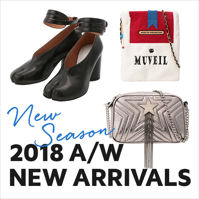 2018AW NEW ARRIVALS