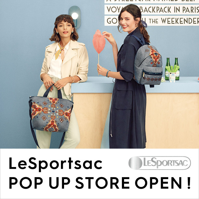 LeSportsac POP UP STORE
