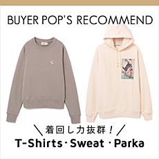 BUYER'S RECOMMEND【T-shirts・Cut&Sewn】