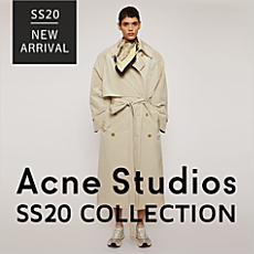 ACNE STUDIOS 20SS NEW ARRIVAL!
