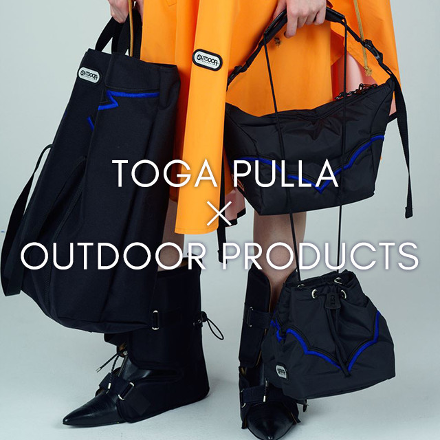 【TOGA PULLA × OUTDOOR PRODUCTS】