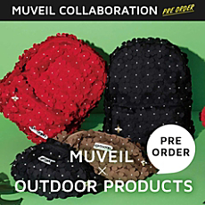 MUVEIL×OUTDOOR PRODUCTS コラボ