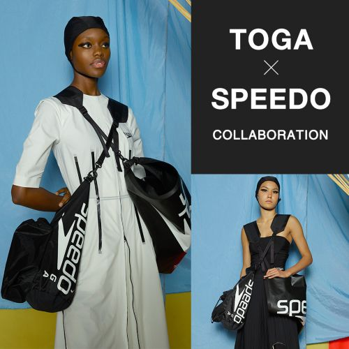 初コラボ!「TOGA×Speedo」コラボレーションアイテムの先行予約スタート!#2021年春夏受注会「これ買い!」