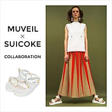 MUVEIL × SUICOKE 初コラボサンダル