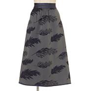 リバーシブルジャガード織スカート,米沢織り×LaVivant