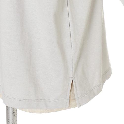 12closet【洗える】ボックスシルエットTシャツ¥7,150サイドスリットUP