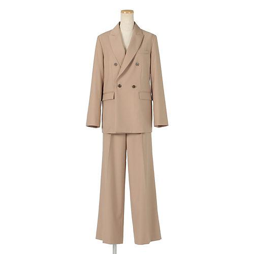同素材のジャケット(380107)とセットアップでご着用可能です。