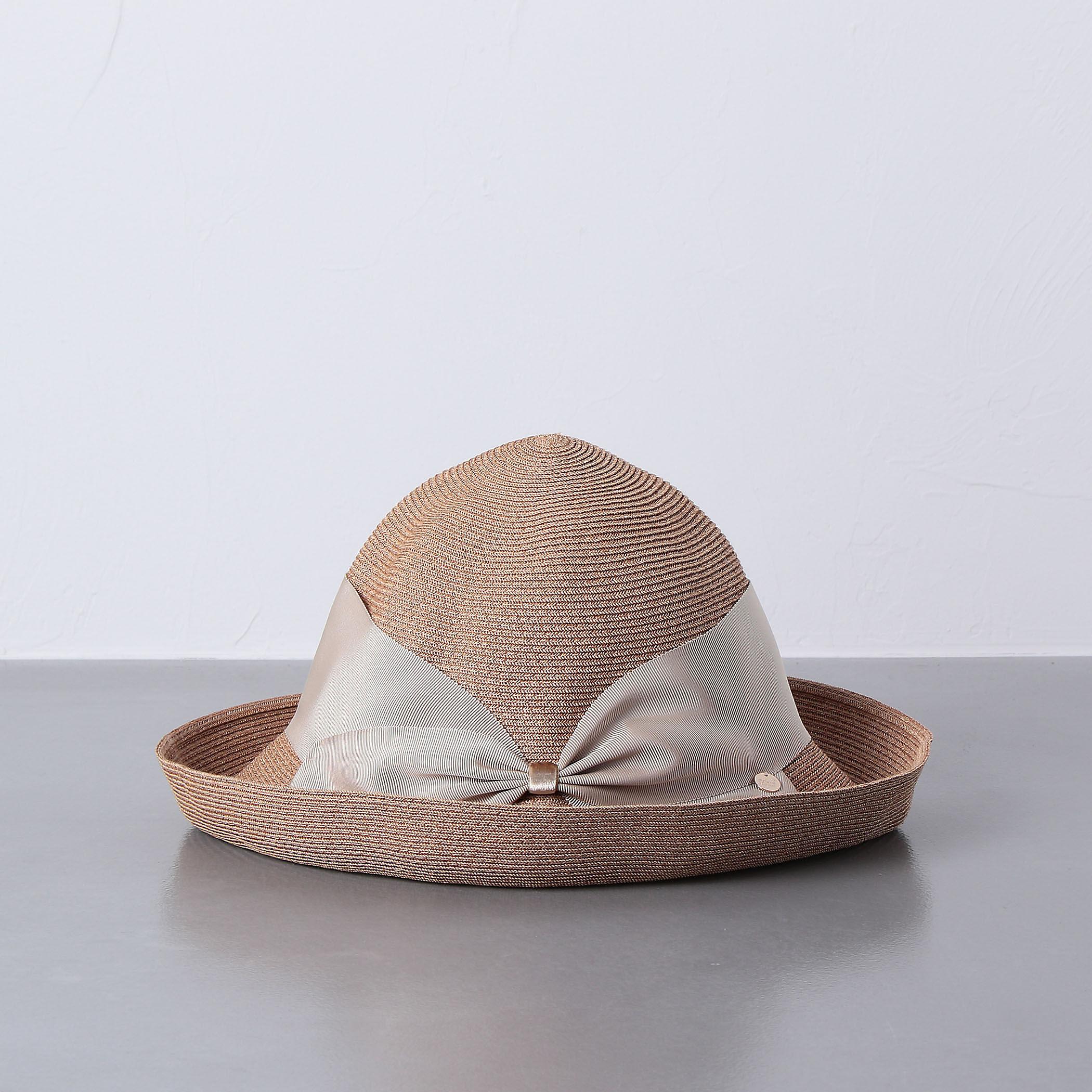 アッシーナニューヨーク たためる 折りたたみ 帽子 リゾート