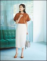 ラップ見えスカート