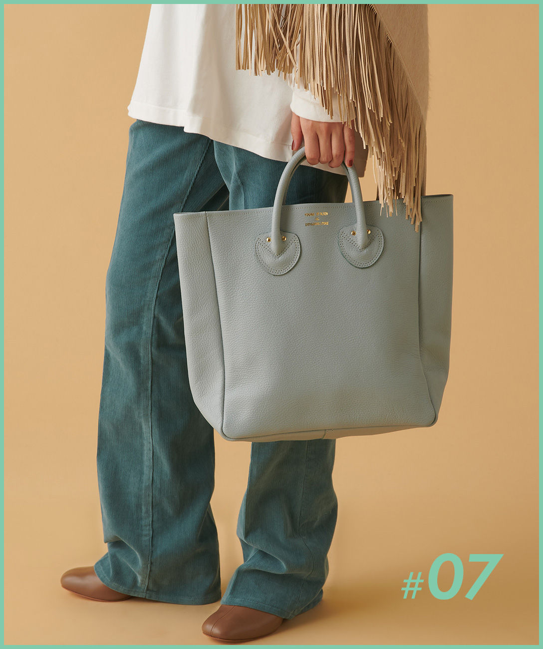 YOUNG & OLSEN The DRYGOODS STORE レザートートバッグ M