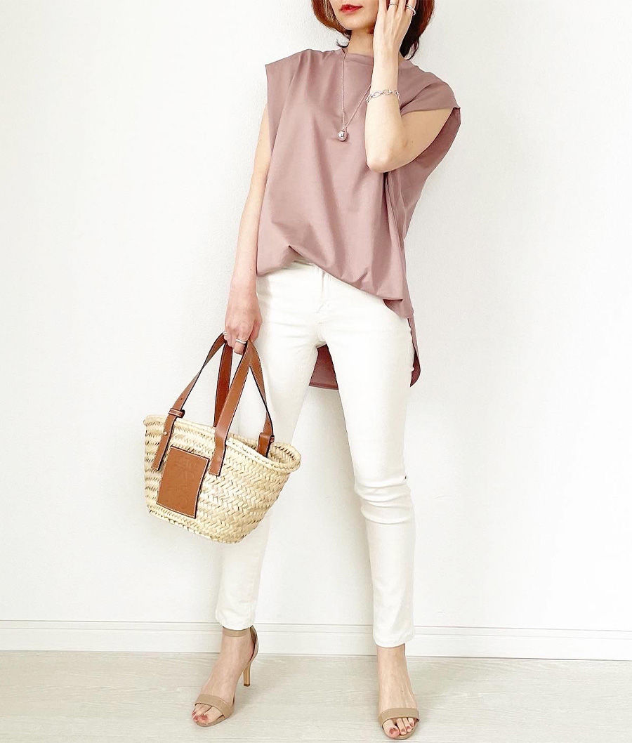 M7days 美女組 tomomiyuさん【松村純子さんコラボ】ノースリーブTシャツ
