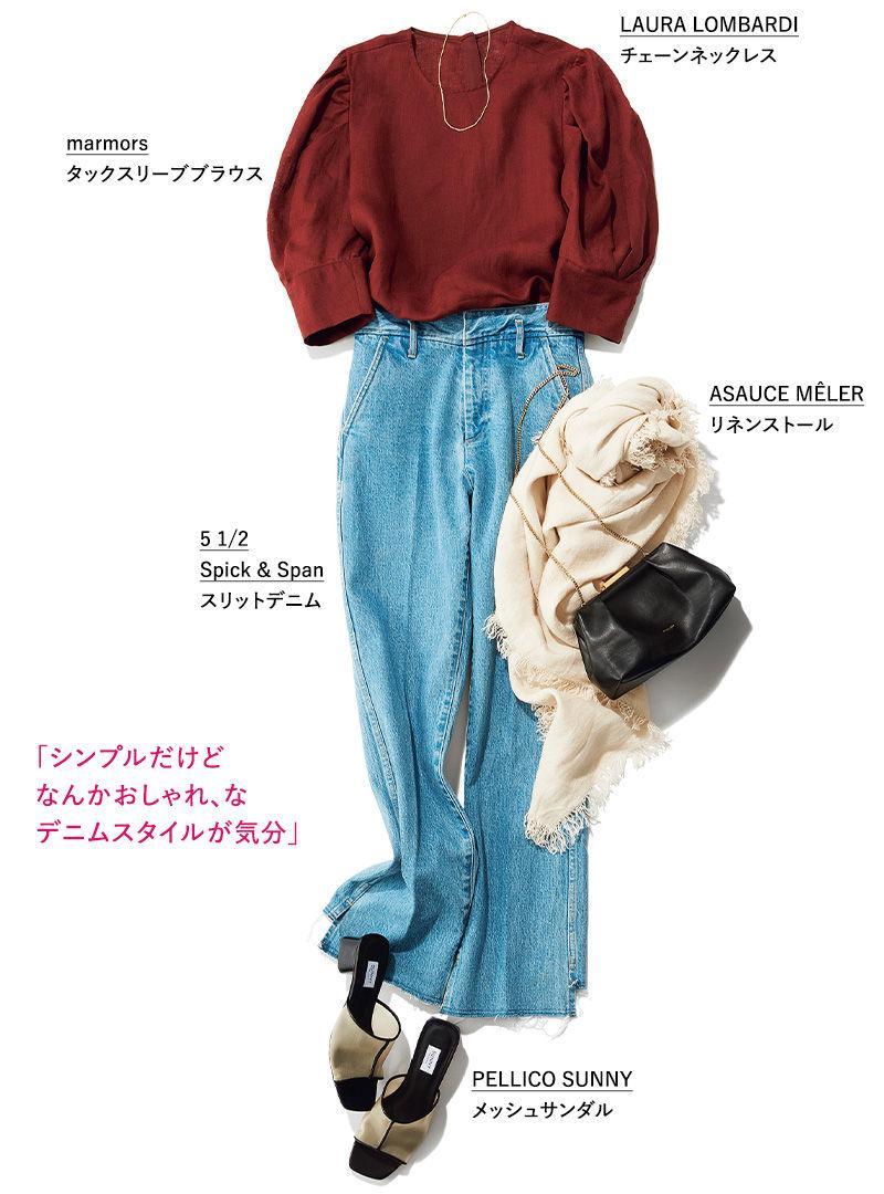Yuki Yoshimura「シンプルだけどなんかおしゃれ、なデニムスタイルが気分」