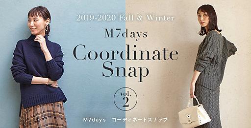 M7days Coordinate Snap vol.2 コーディネートスナップ