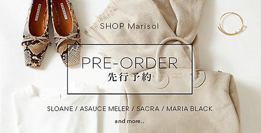【SHOP Marisol】PRE-ORDER 先行予約