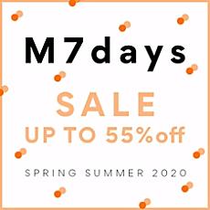 【M7days SALE】再値下げスタート!