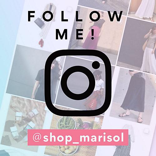 SHOP Marisolインスタグラム FOLLOW ME