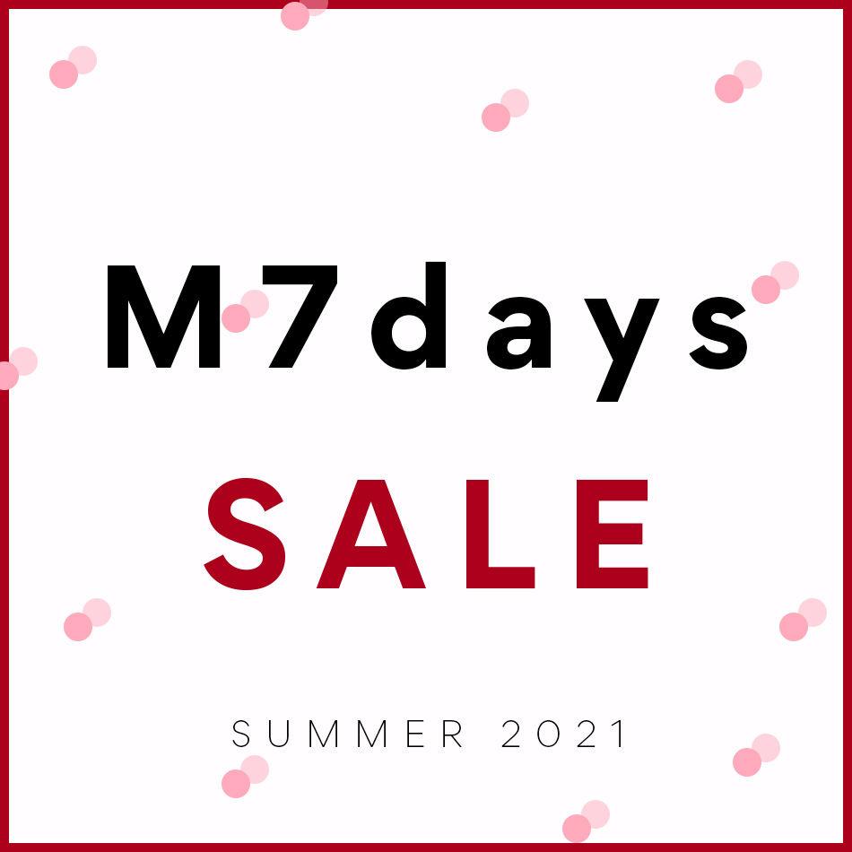 人気ブランド『M7days (エムセブンデイズ)』今季アイテムが早くもプライスダウン!