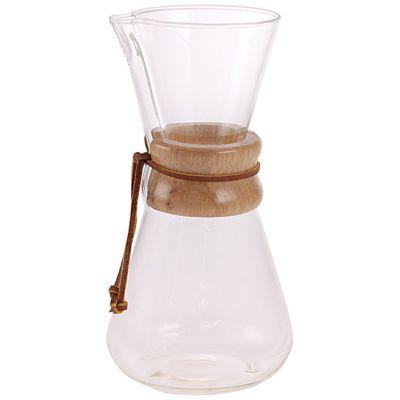 <集英社> コーヒーメーカー 木カバー付き 3カップ用画像