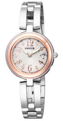 <集英社> Wicca ソーラーテック電波時計 ハッピーダイアリー チェック柄(KL0−219−11)画像