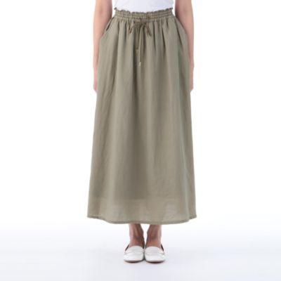 <集英社> コットンレクセルロングギャザースカート画像