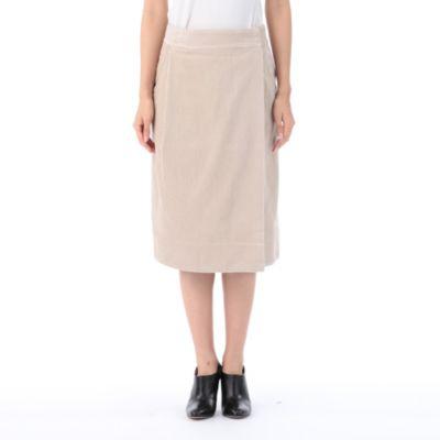 <集英社> コーデュロイラップスカート画像