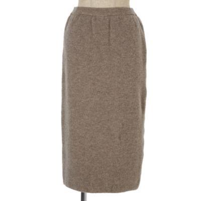 <集英社>【セットアップOK】リブニットスカート画像