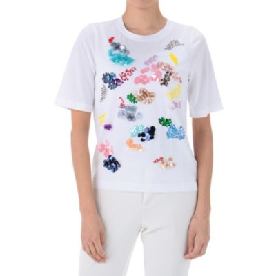 MIX刺繍Tシャツ