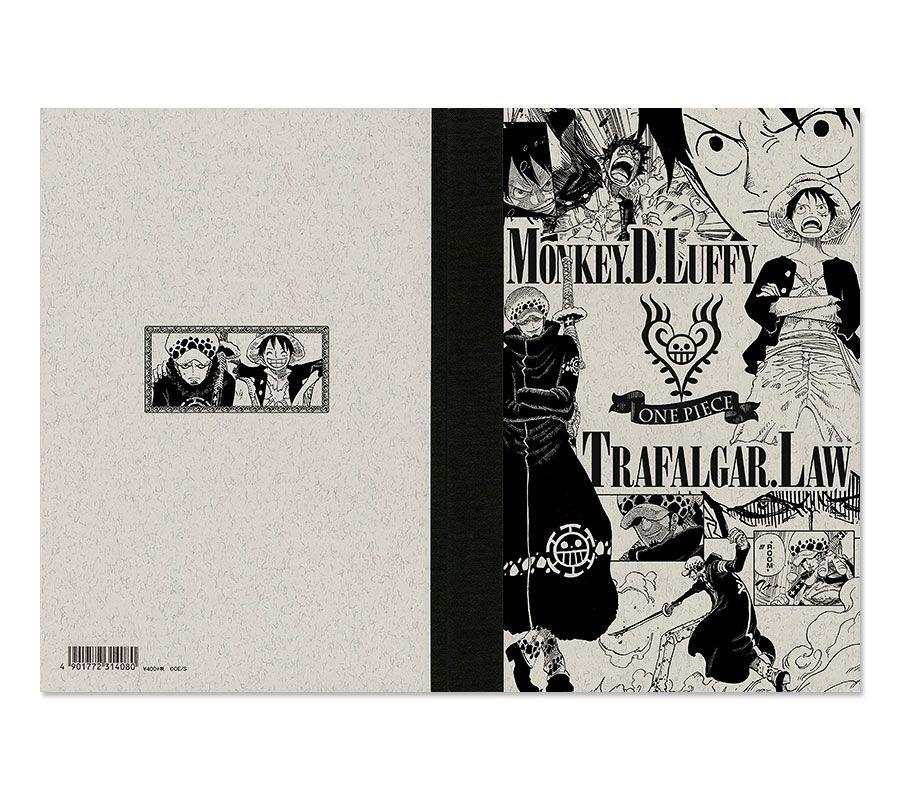 ONE PIECE(ワンピース)/クラシックノート ルフィ&ロー 2015年夏