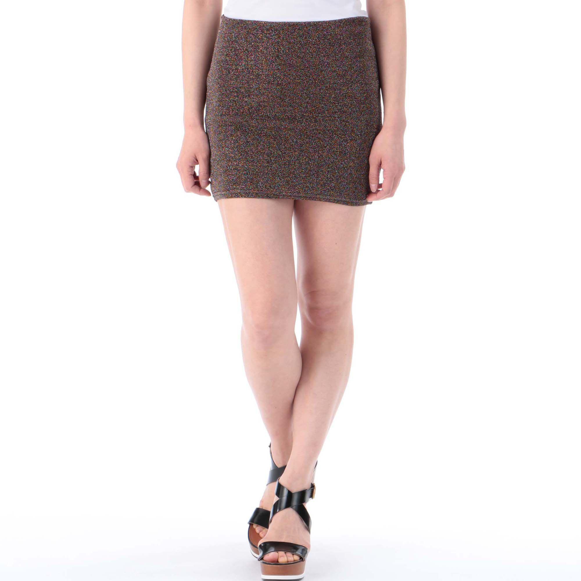 EVRISエヴリス/ラメタイトスカート