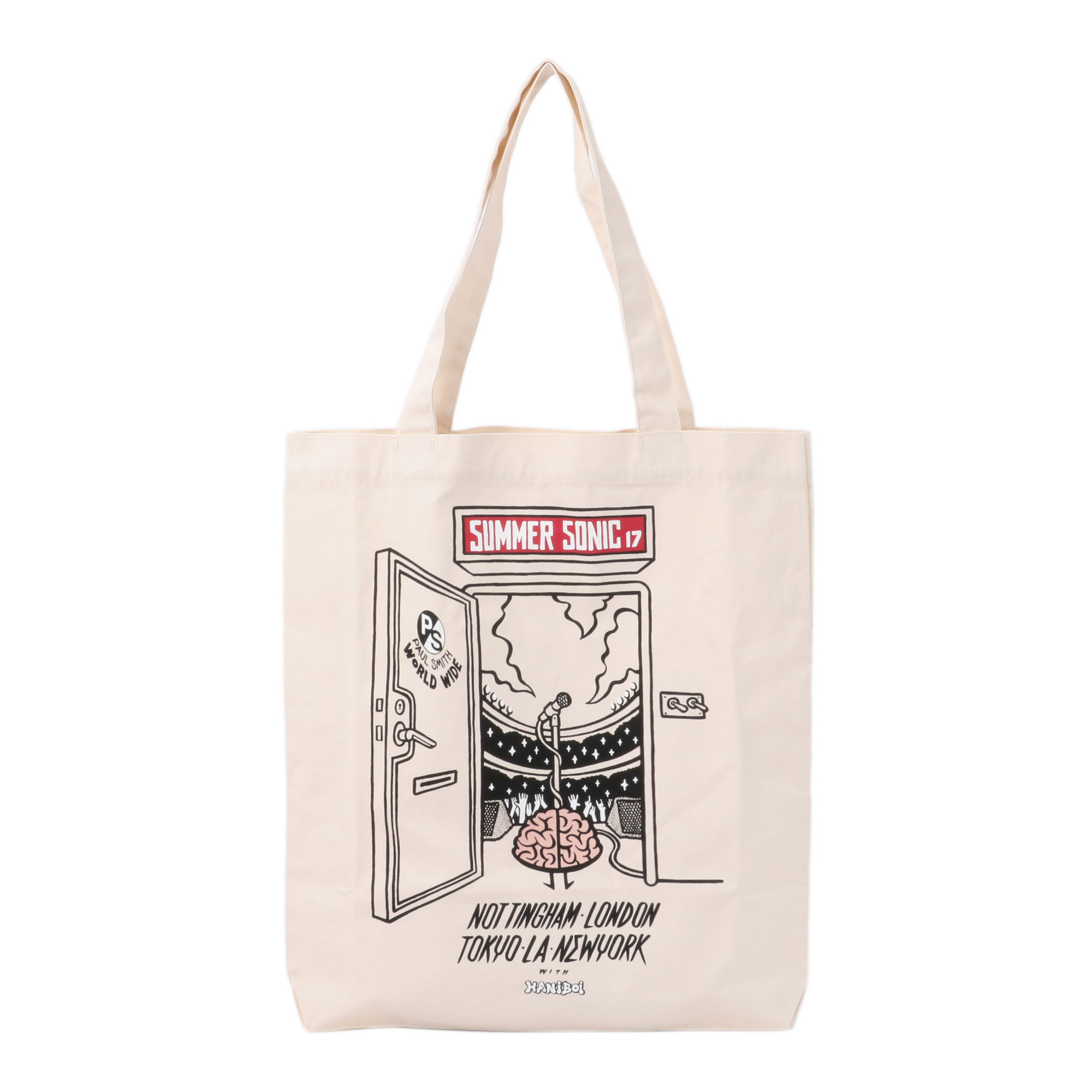 """SUMMER SONIC × PS by Paul Smith"" STAGE PRINT TOTE BAG"