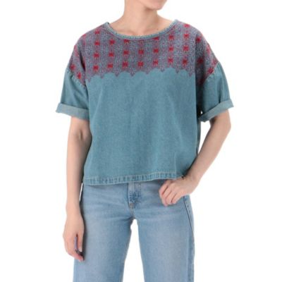 THE EMBROIDERED TOP