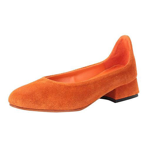 スエードオレンジ