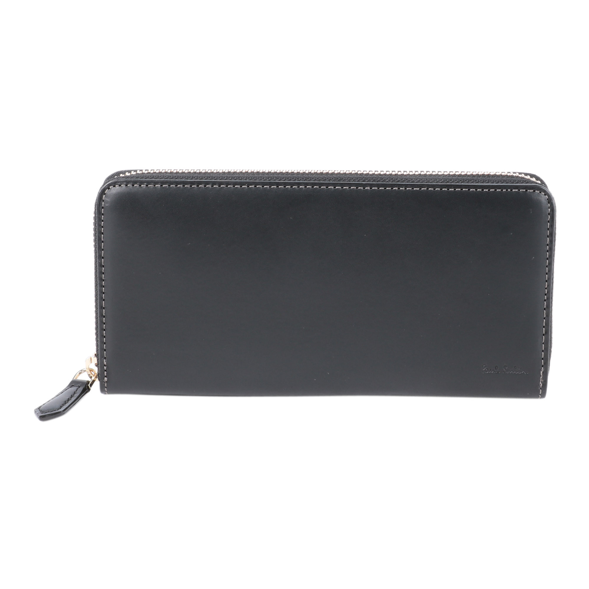 OLD LEATHER LONG ZIP WALLET