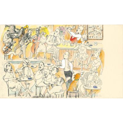<集英社> 『Le Bar−green』銅版画 手彩色画像
